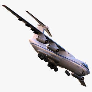 3d model ilyushin il-76