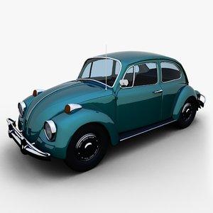 3d 1967 volkswagen beetle