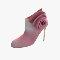 3dsmax womens shoes