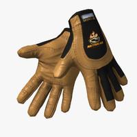 3dsmax work gloves -