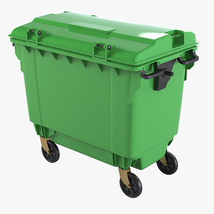 3ds max garbage container