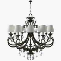 3d classical chandelier model