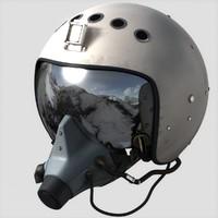 3d max russian flight helmet