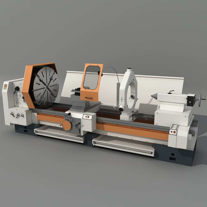 milling machine c 3d model