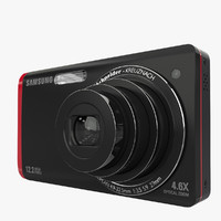 samsung photography camera 3d obj