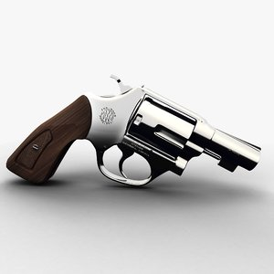 3d model of 38 special