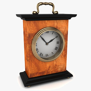 executive office clock 3d model