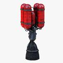 rocket engine 3D models