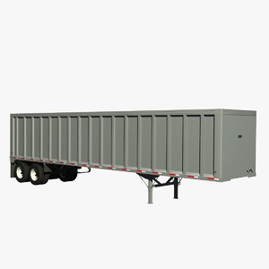 lwo tipper trailer
