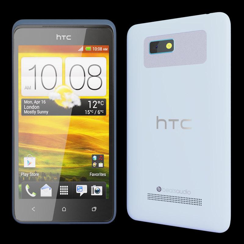 3d realistic htc desire 400