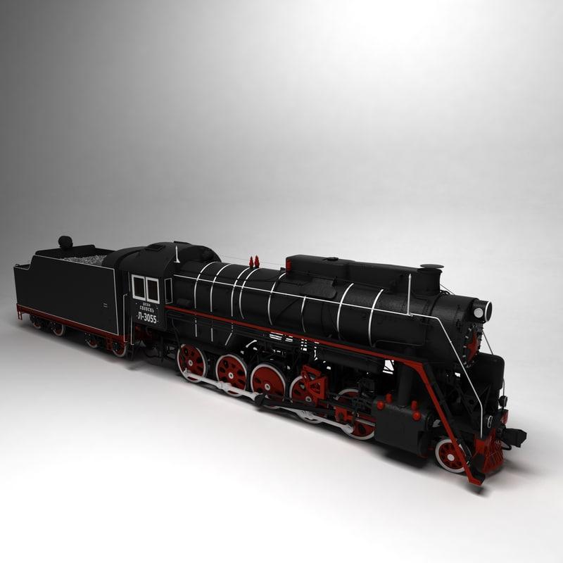 steam locomotive train max