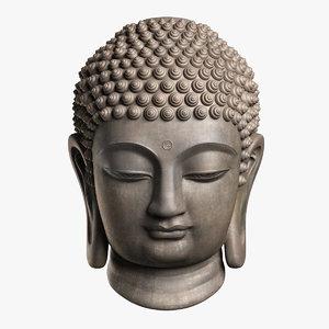 buddha head max