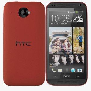 htc desire 601 dual 3d model