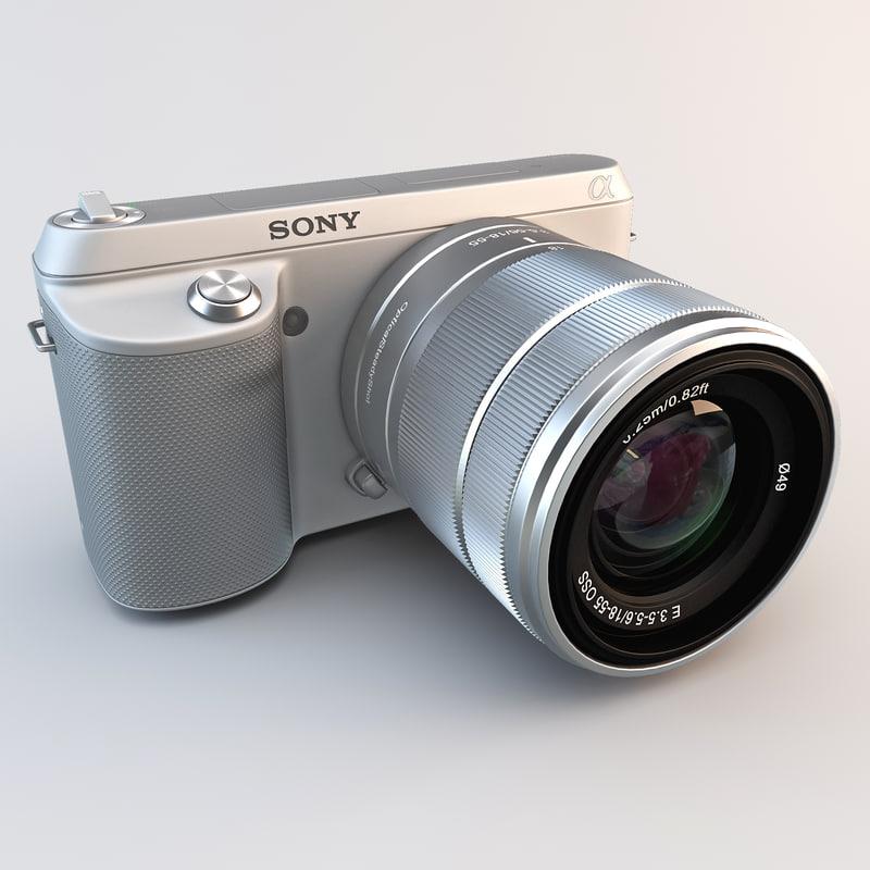 compact camera sony nex-f3ks