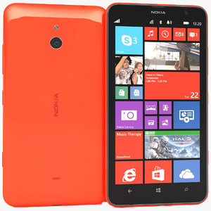 max nokia lumia 1320 red