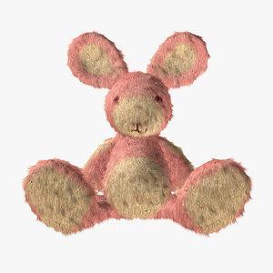 rabbit doll 3d 3ds