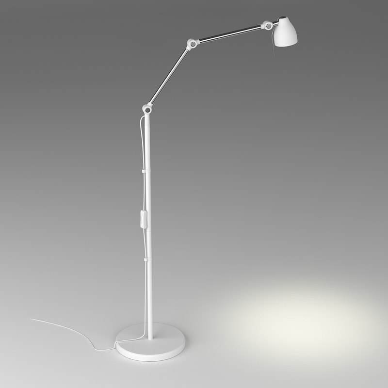 3d tral lamp lights