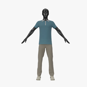 showroom mannequin male 011 3d 3ds