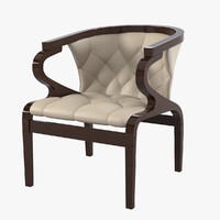3ds max elegant dining chair