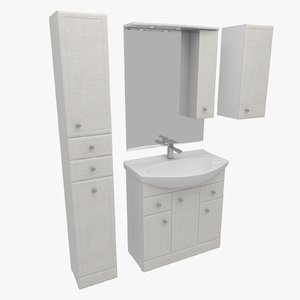 3d model bathroom furniture