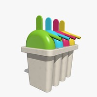 ice pop maker mold 3d 3ds