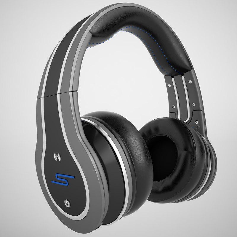 sync headphones 50 3d model