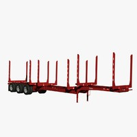 3d model of trailer arctic hr-51tr short