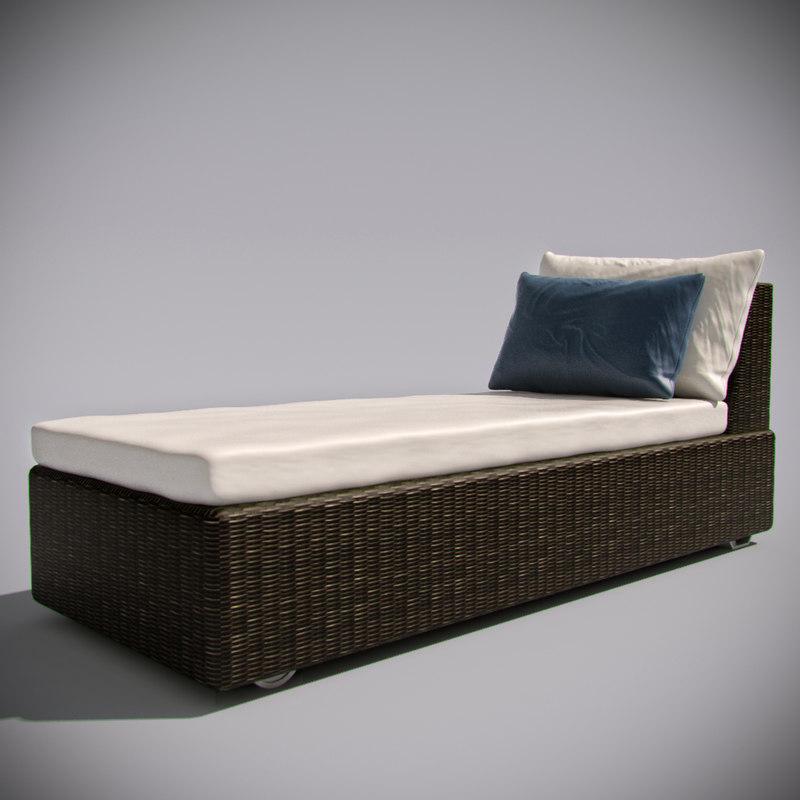 max luxury sunbed