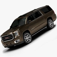 2015 GMC Yukon XL (Low Interior)