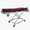 rolling stretcher 3D models