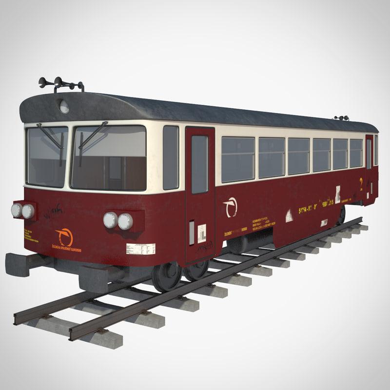 railcar 810649 3d max