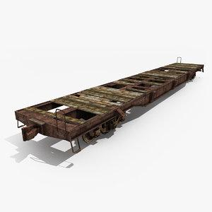 railway platform 3d model