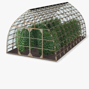 3d greenhouse glass