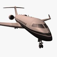 3d passanger plane