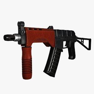 sr-3m vikhr assault rifle 3d 3ds