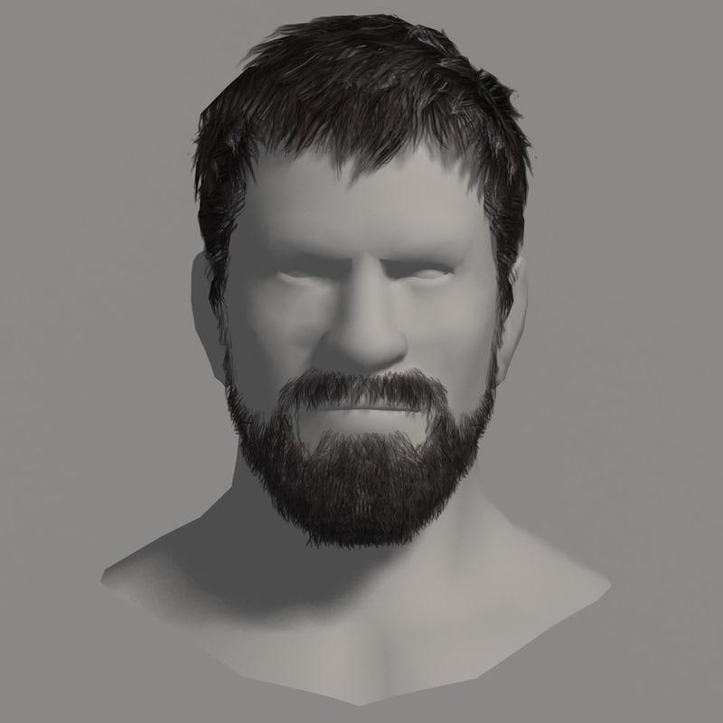 qualitative beard hair man s max