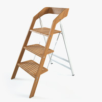 maarten usit stepladder chair 3d max