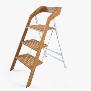 maarten usit stepladder chair 3d max