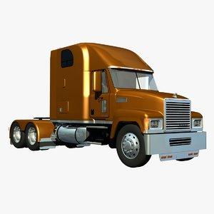 3d mack chu truck sleeper