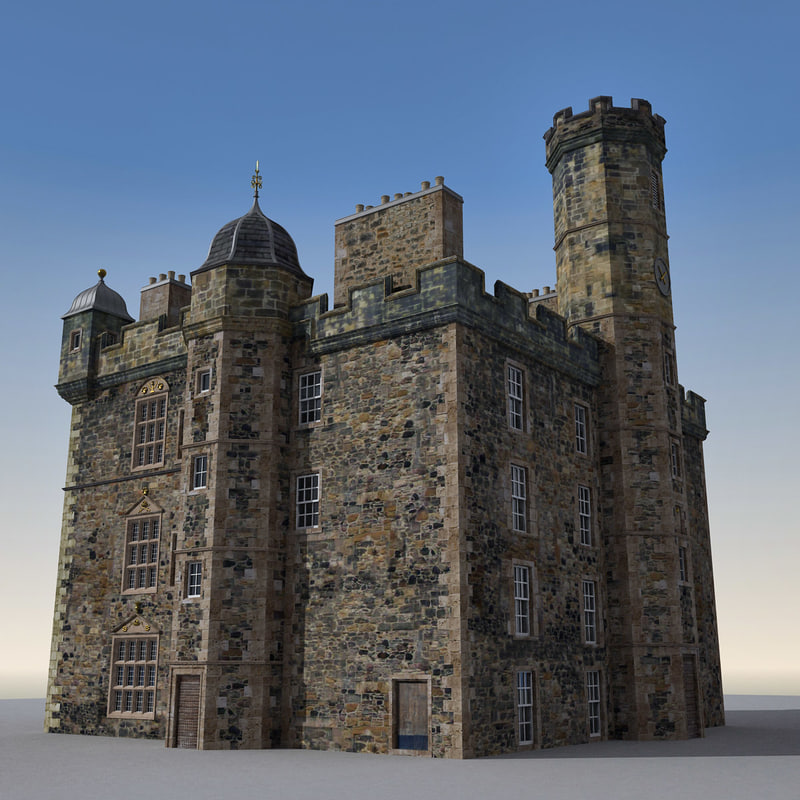 3d palace edinburgh castle