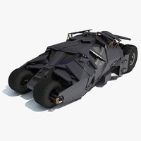 Batmobile Tumbler Batman Car