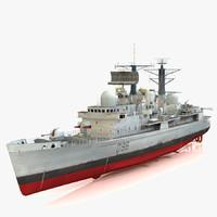 Destroyer HMS York D98 Type 42