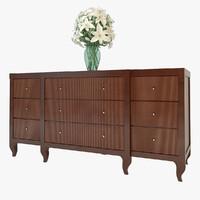 max baker mahogany chest