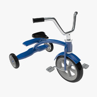 childrens trike 02 3d c4d