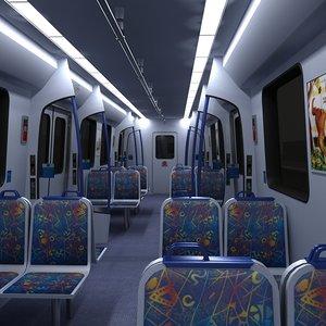 max metro train interior