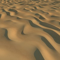 3d model desert sand