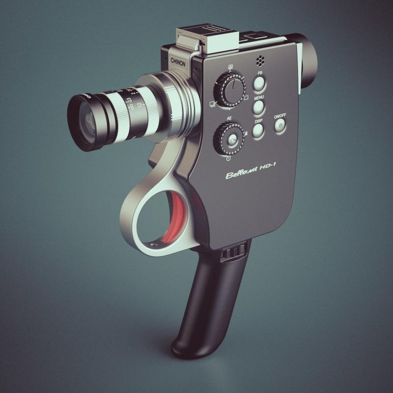 3ds max photoreal digital movie camera