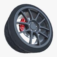 Weds Sport  Carbon  Wheel
