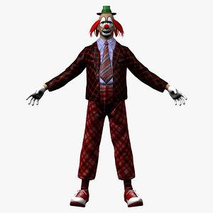 clown 1 3d max