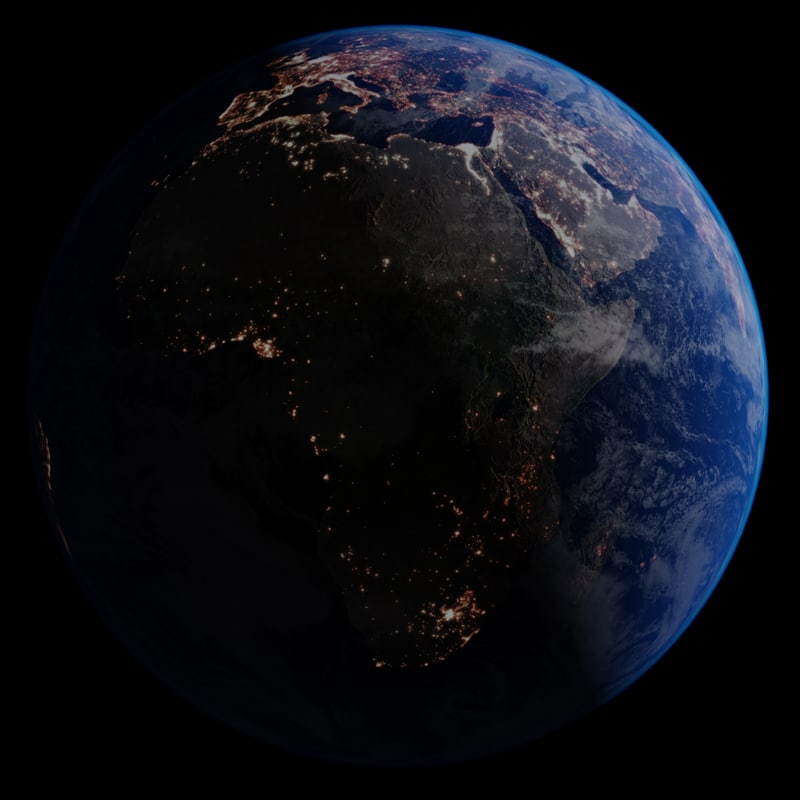 realistic war earth atmosphere 3d max